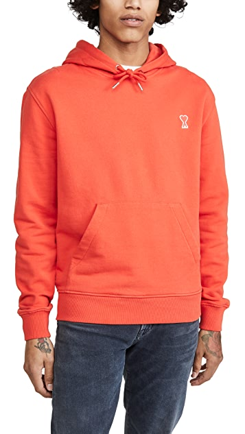 AMI Ami Heart Pullover Hoodie