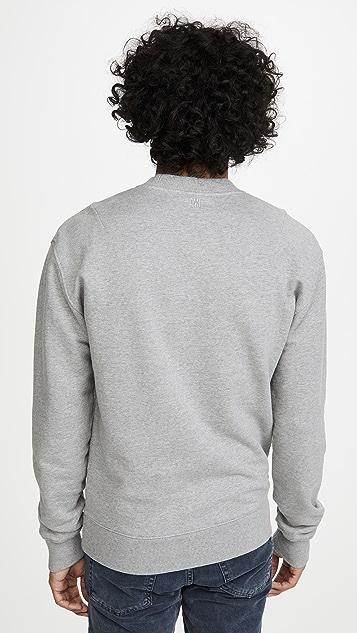 AMI Large Ami Logo Crew Neck Sweatshirt