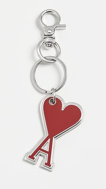 AMI Heart Key Ring