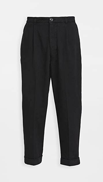 AMI Oversized Carrot Fit Trousers | EASTDANE | The Fall Event Save Up To 25%Page 1