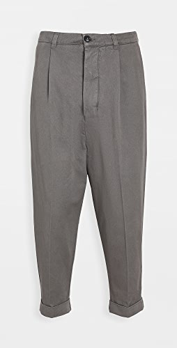 AMI - Oversized Carrot Fit Trousers