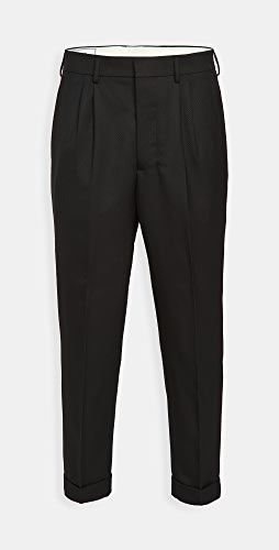 AMI - Carrot Fit Wool Trousers