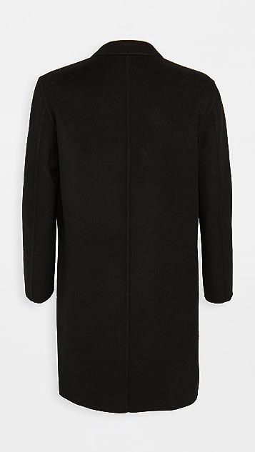 AMI Virgin Wool Cashmere Unconstructed Coat
