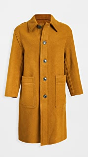 AMI Virgin Wool Topcoat