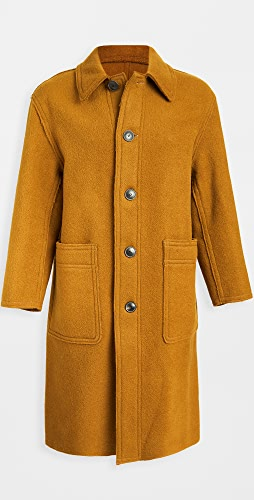 AMI - Virgin Wool Topcoat