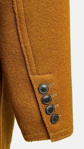 AMI Virgin Wool Topcoat
