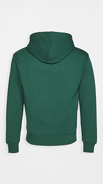 AMI Zipped Fleece Hoodie