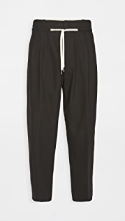AMI Drawstring Waist Trousers