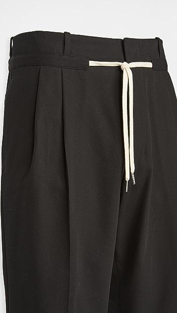AMI Drawstring Waist Trousers