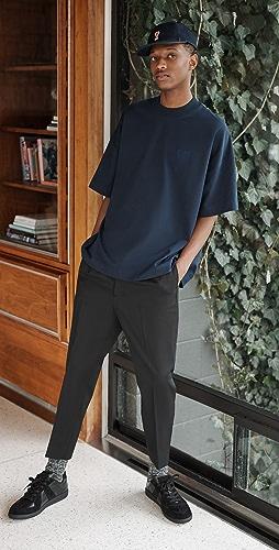 AMI - Elasticized Waist Trousers