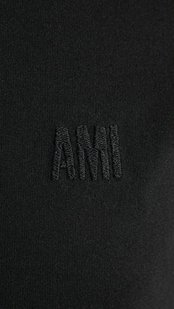 AMI Chest Embroidered T-Shirt