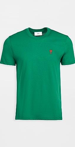 AMI - Small AMI Heart Logo T-Shirt