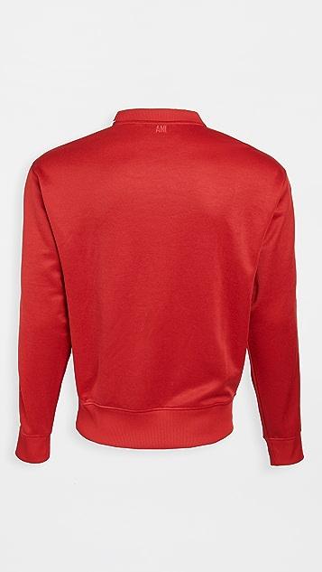 AMI AMI Embroidered Sweatshirt