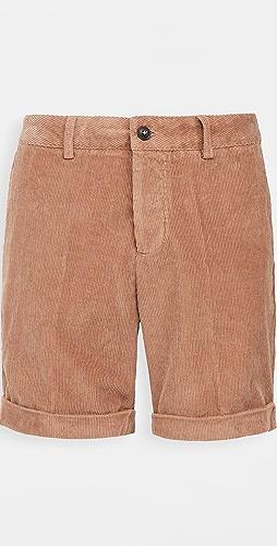 AMI - Roll Up Hem Shorts