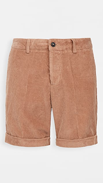 AMI Roll Up Hem Shorts