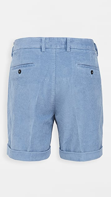AMI Roll Up Hem Shorts
