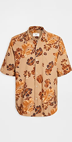AMI - Flower Printed Shirt
