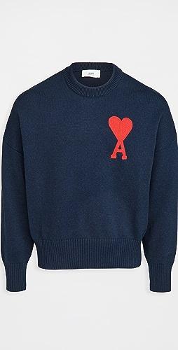 AMI - Oversize Ami De Coeur Sweater
