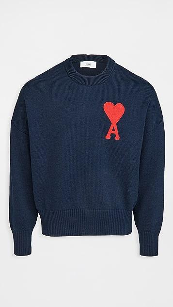 AMI Oversize Ami De Coeur Sweater