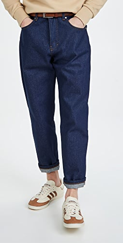 AMI - Men Tapered Fit 5 Pockets Jeans
