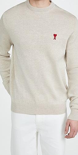 AMI - Ami De Coeur Crewneck Sweater