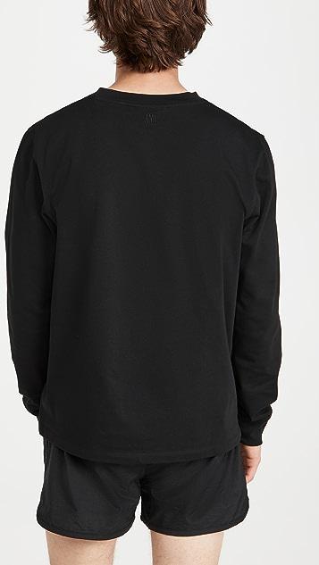 AMI Ami De Coeur Long Sleeve T-Shirt