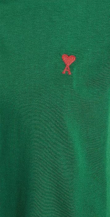 AMI Ami De Coeur Long Sleeve Tee-Shirt