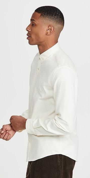 AMI Brushed Oxford Shirt