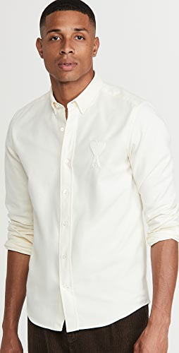 AMI - Brushed Oxford Shirt