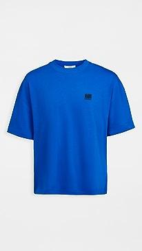 아미 티셔츠 AMI Jersey Tee,Royal Blue