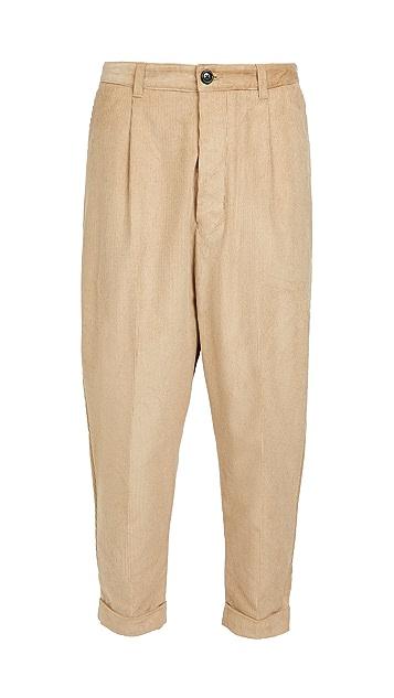 AMI Wale Corduroy Pants