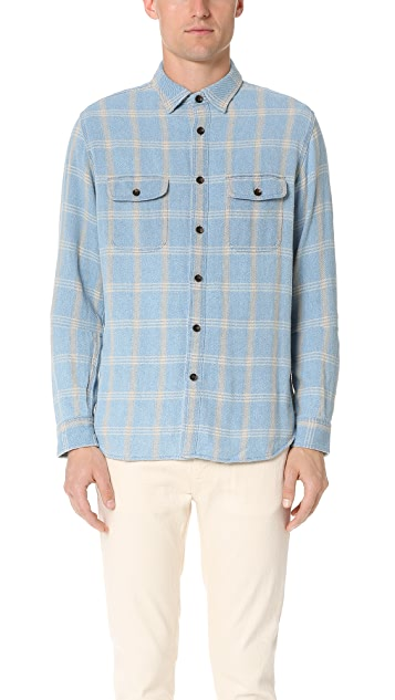 Alex Mill Indigo Flannel Shirt