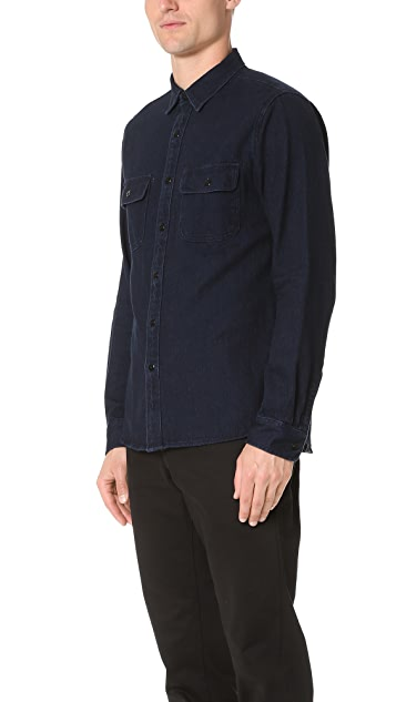 Alex Mill Indigo Chambray Shirt