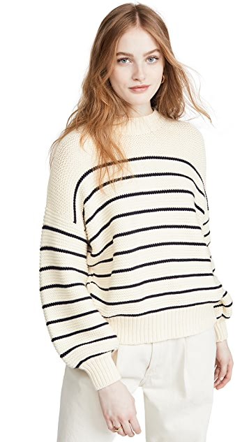 Alex Mill Chunky Button Back Sweater
