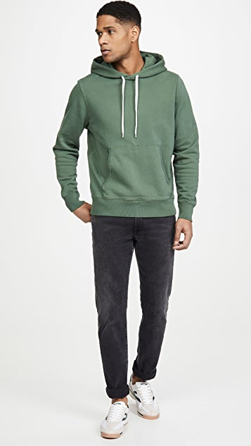 Alex Mill Garment Dyed Pullover Hoodie