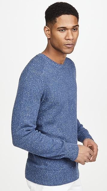 Alex Mill Donegal Shoulder Crew Neck Sweater