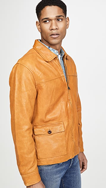 Alex Mill Leather Work Jacket
