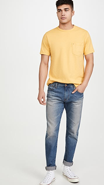 Alex Mill Standard Slub Cotton Pocket T-Shirt