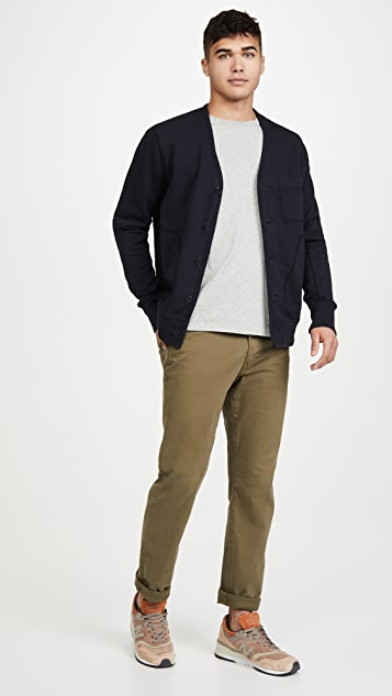 Alex Mill French Terry Cardigan