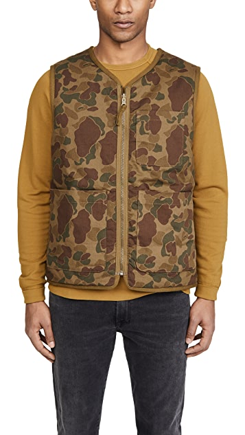 Alex Mill Reversible Camo Vest