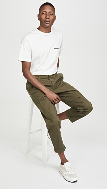 Alex Mill Pleated Chino Trousers