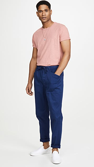 Alex Mill Pull On Button Fly Pants