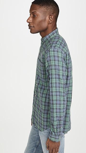 Alex Mill Double Gauze Plaid Button Down Shirt