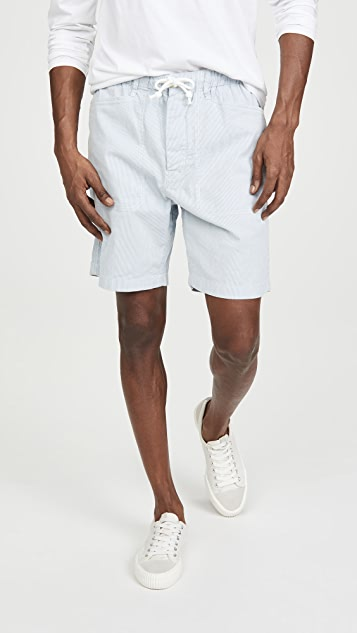 Alex Mill Pull On Button Fly Shorts