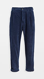 Alex Mill Rugged Corduroy Pleated Pants