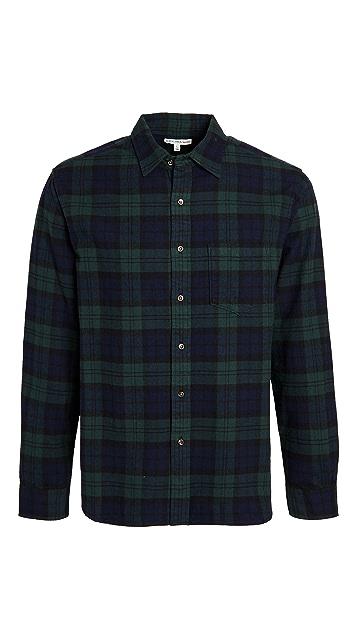 Alex Mill Standard Blackwatch Flannel Shirt