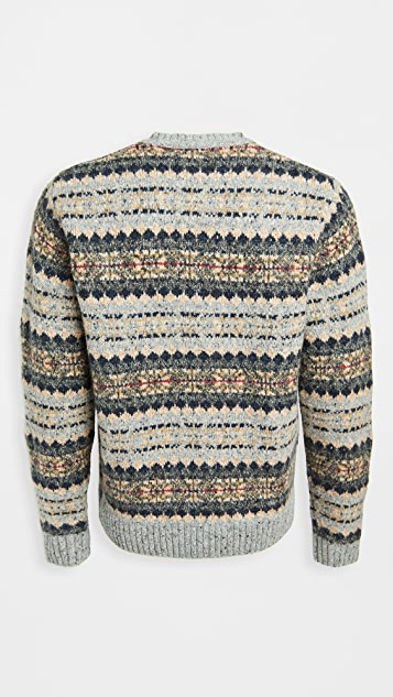 Alex Mill Diamond Fair Isle Sweater