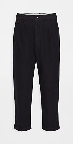 Alex Mill - Moleskin Pleated Trousers