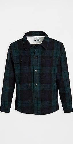 Alex Mill - Blackwatch Wool Chore Coat