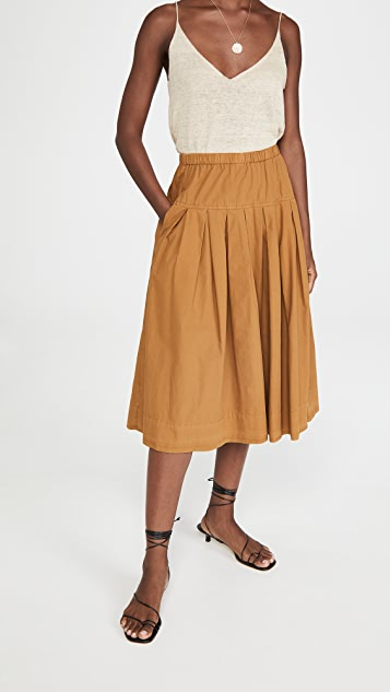 Alex Mill Paper Cotton Skirt
